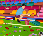 game 2014 FIFA World Cup Stadium Cleaning