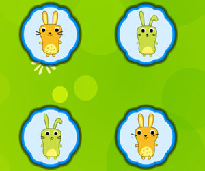 game Adorable Bunny Pairs
