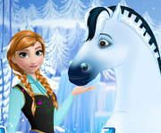 game Anna Frozen Horse Caring