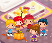 game Autumn Forest House
