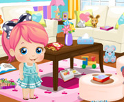 game Baby Alice Party Clean Up
