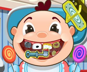game Baby at Dentist