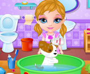 game Baby Barbie Adopts a Pet