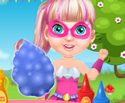 game Baby Barbie cooking Cotton Candy