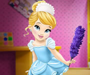 game Baby Cinderella House Cleaning