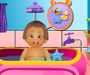 game Baby Daisy Bathing Time
