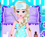 game Baby Elsa Skating Accident