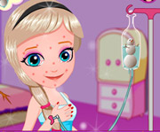 game Baby Elsa Skin Allergy