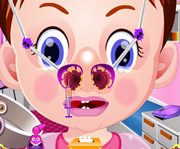 game Baby Emma Nose Doctor