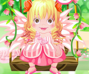 game Baby Fairy Bath