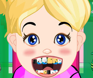 game Baby Girl Dental Care
