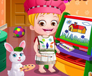game Baby Hazel Learns Colors