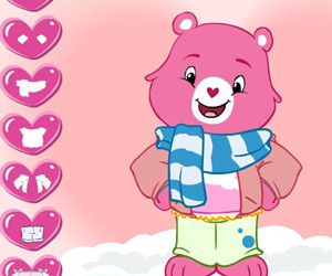 game Baby Hugs Bear Dress Up