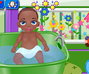 game Baby Jamal Bathing