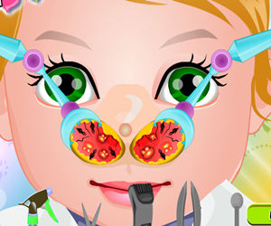 game Baby Juliet Nose Doctor