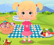 game Baby Pink Picnic Time