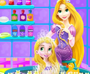 game Baby Rapunzel Bath Time