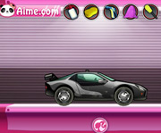game Barbie Car Salon