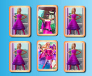 game Barbie in Princess Power Memory Cards