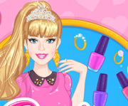 game Barbie Prom Nails Designer