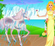 game Barbie Unicorn Caring
