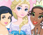 game Barbies Royal Makeup Studio