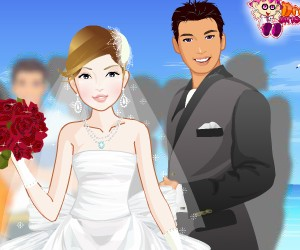 game Beatutiful Bride At The Sea