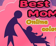 game Best Mom Online Coloring