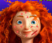 game Brave Merida Skin Treatment
