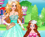 game Bride Cinderella and Flower Girl