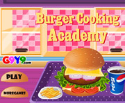 game Burger Cooking Academy