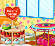 game Candy Store Decoration