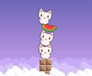 game Cat cat watermelon