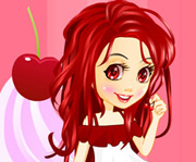 game Cherry Girl Dressup