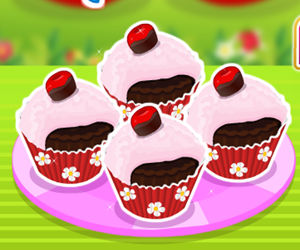 game Chocolate Cherry Cupcakes