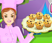 game Cooking Blueberry Muffins