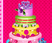 game Crown Cake Topper Decor