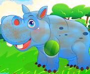 game Cute Hippo Care