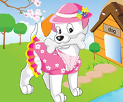 game Cute Puppy Dress Up