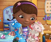 game Doc McStuffins Jewel Match