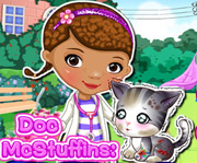 game Doc McStuffins Stray Kitten Caring