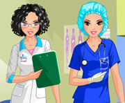 game Doctor vs Nurse Dress Up Game