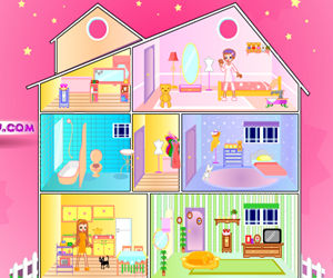 game Doll House Decoration