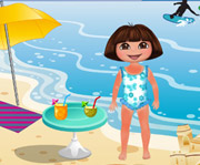 game Dora Beach Day