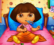 game Dora Bee Sting Doctor