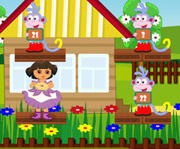 game Dora Boots Fun Maths