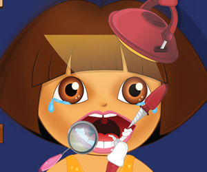 game Dora first teeth