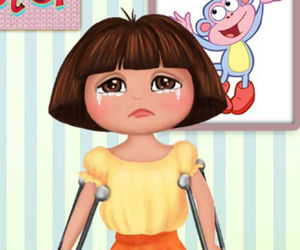 game Dora Foot Doctor
