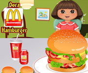 game Dora Mcdonalds Hamburger
