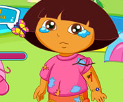 game Dora Messy Camp